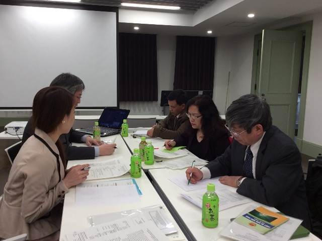Discussion at the Kuroda Memorial Hall, Tokyo