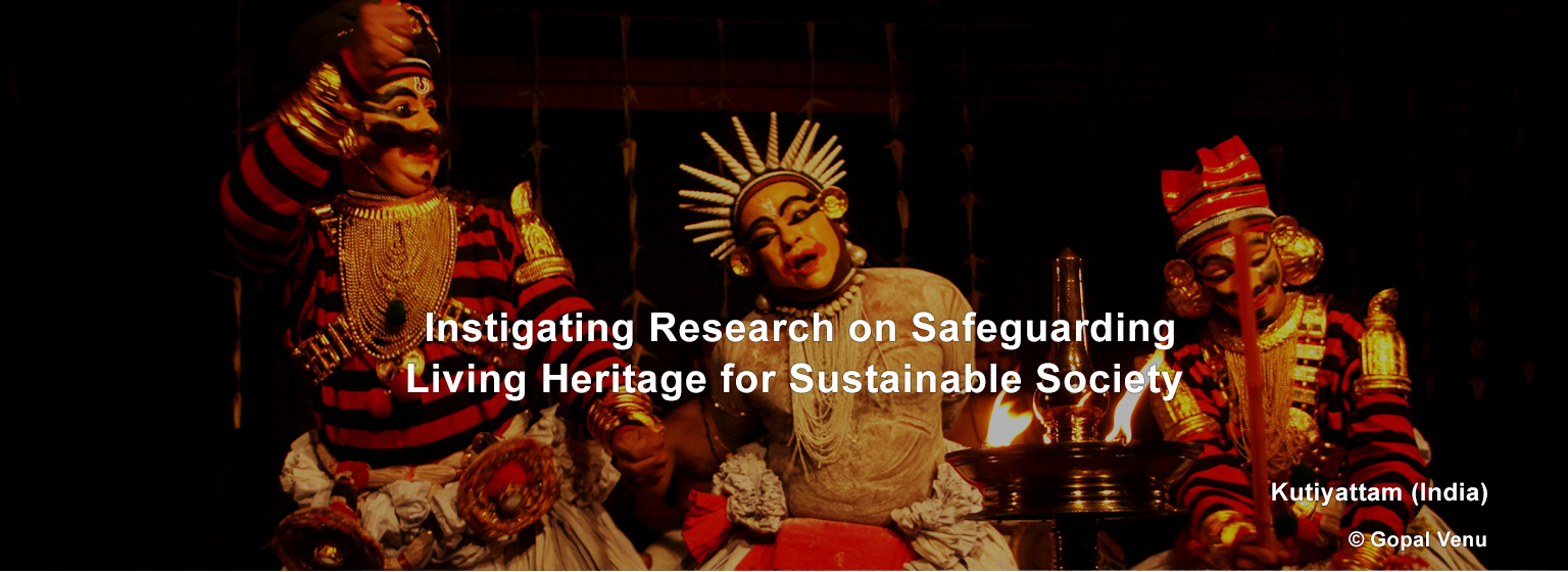 Instigating Research on Safeguarding Living Heritage for Sustainable Society